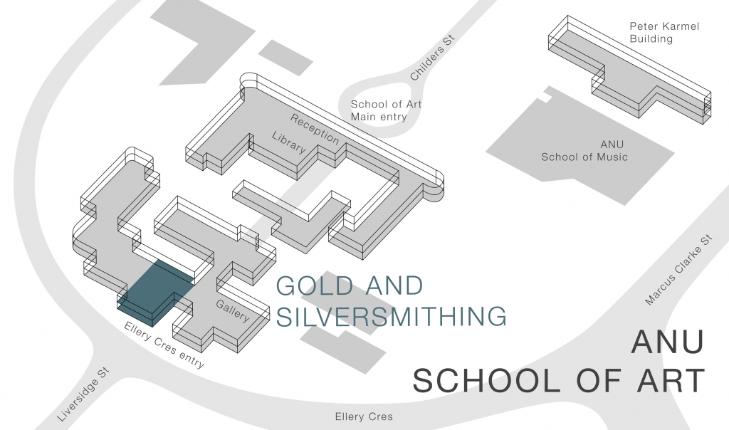 Gold and Silversmithing map