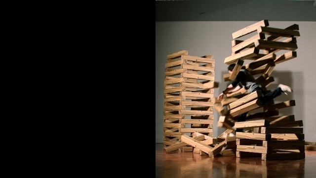 Richard Blackwell, Wood Stack, 2008